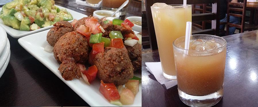 comida camaronesa